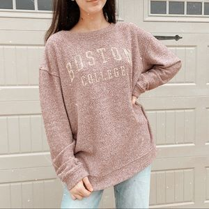 Boston college sweatshirt pullover